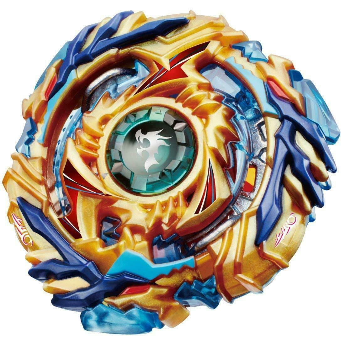 ROKK NOW Bey Battle Burst God Blades Gyro Evolution Combination 4D Series with Stadium Battle Arena, Launcher Stater Grip, Includes 4 Battling Fusion Beyblades by ROKK NOW