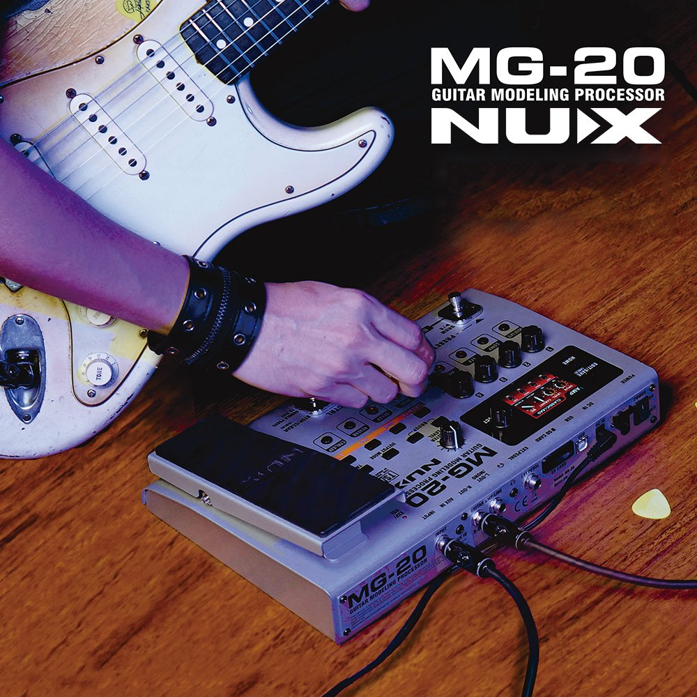 ammoon Modelado Multifuncional Procesador de Guitarra Efectos de Guitarra Eléctrica con 60 Modelos de Efectos 72 Preset Drum Función Looper de Máquina Pedal ...
