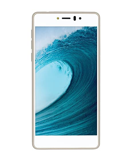 LYF Smartphone CK LS-5002 (White) Smartphones & Basic Mobiles at amazon