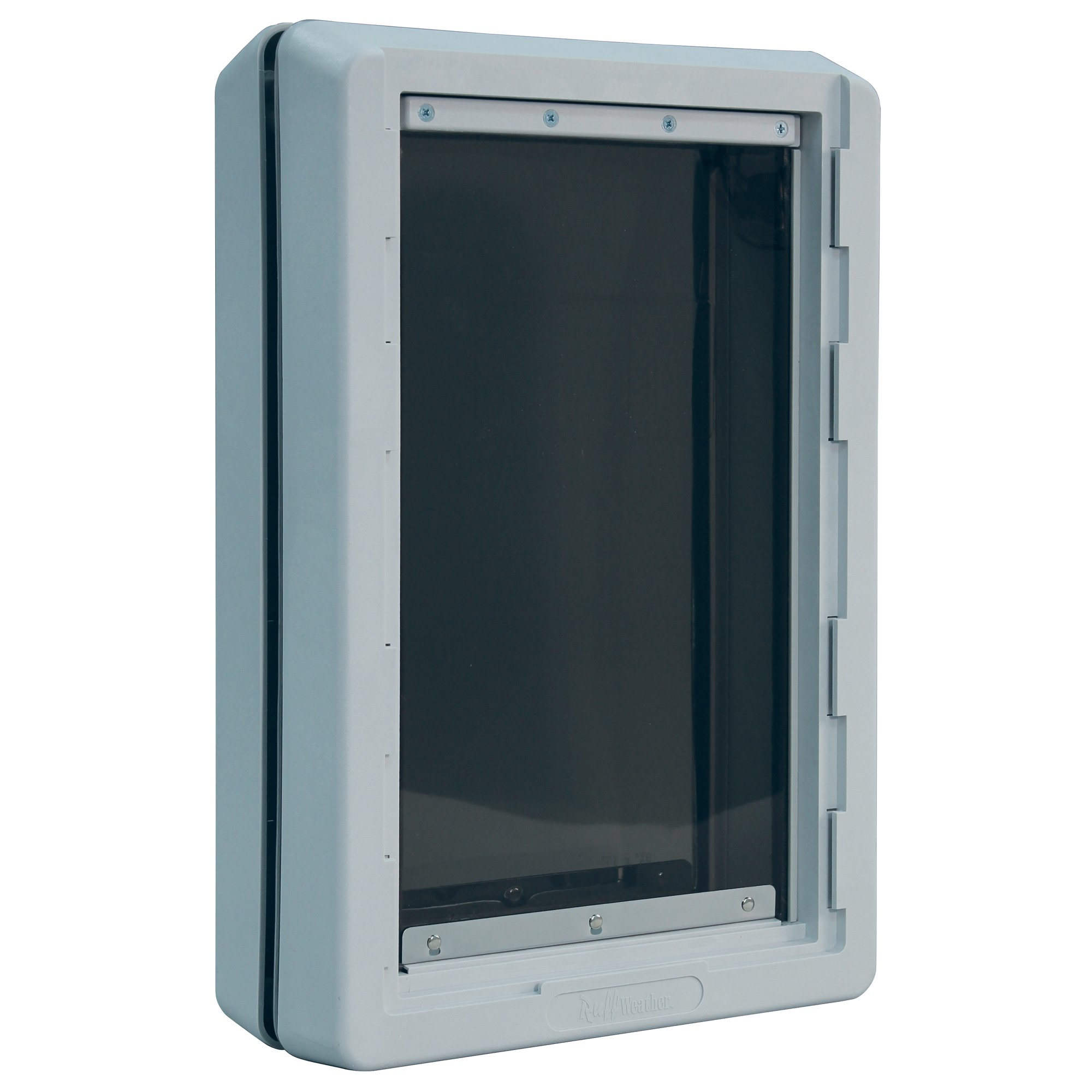 Ideal Pet Products Designer Series Ruff-Weather Pet Door with Telescoping Frame, Extra Large, 9.75'' x 17'''' Flap Size