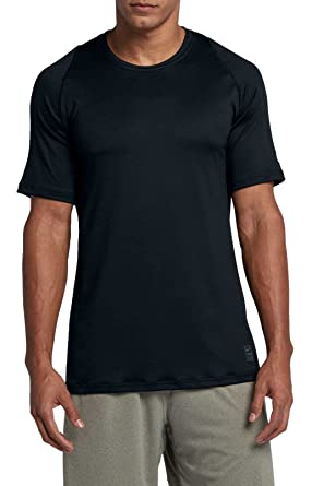 cd75c1d5ea Image Unavailable. Image not available for. Color  NIKE Pro Men s  Colorburst 2 T-Shirt - Blk Atmosphere Grey White