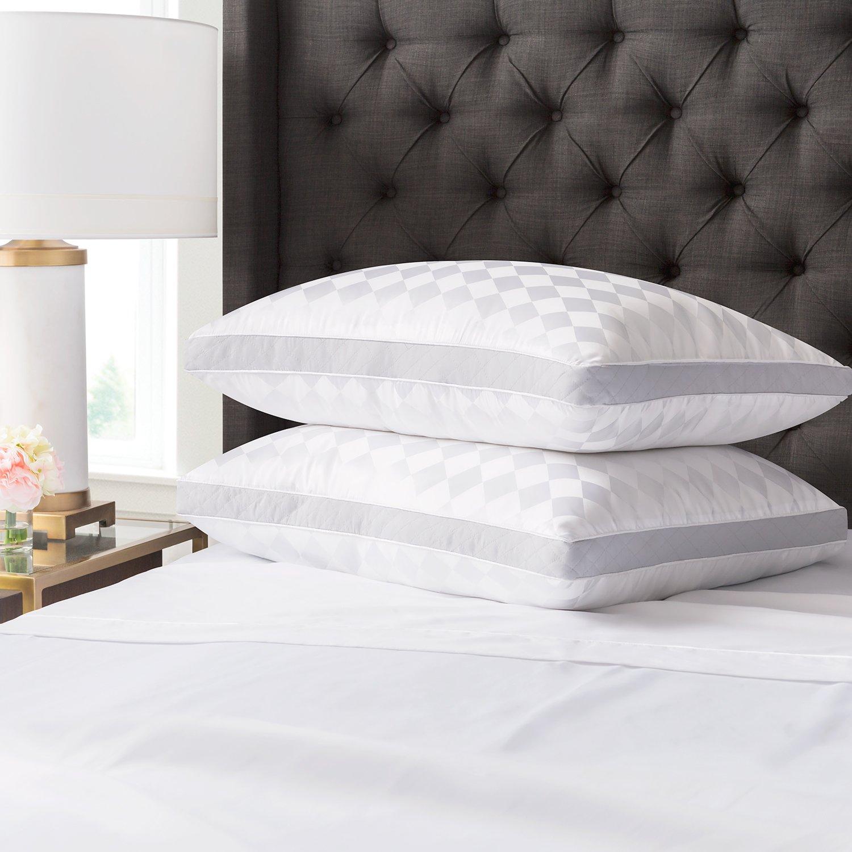 Beckham Hotel Collection Gusset Gel Pillow 2 Pack