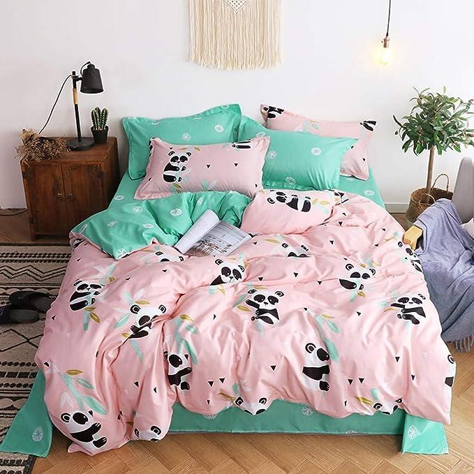 Amazon.com: Fan-Ling - Juego de ropa de cama con estampado ...