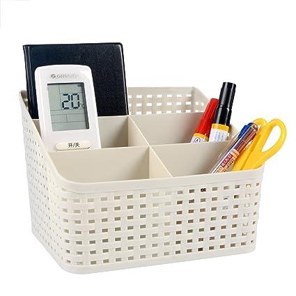 Saim Space Saving Plastic Office Supplies Desk Organizers/ Pen Holder /Cell  Phone Holder/