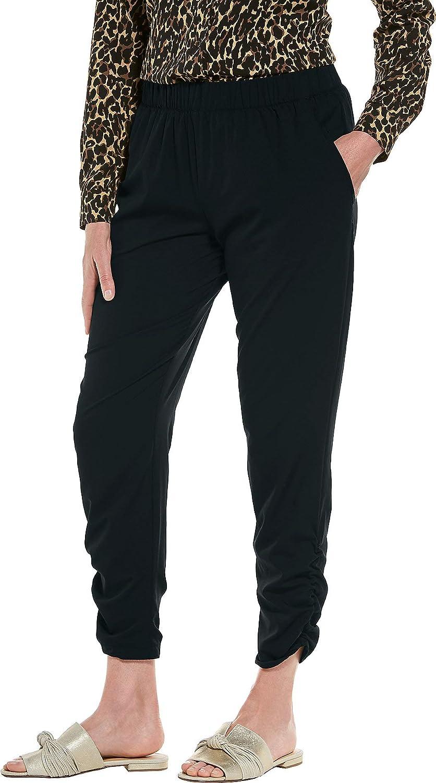 Womens Gisele Ruched Pants Sun Protective Coolibar UPF 50
