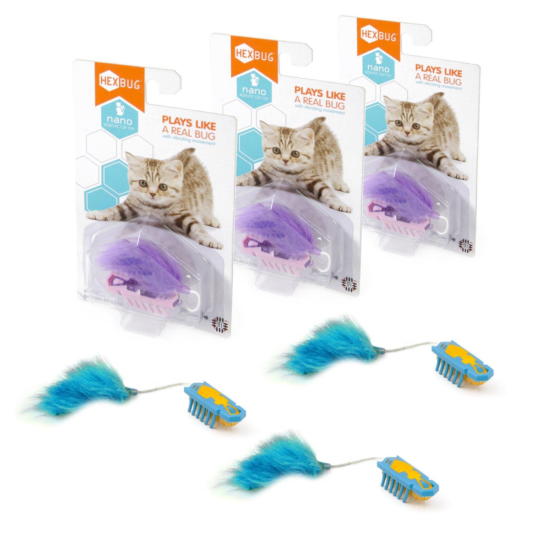 HEXBUG Nano Cat Toy Three Pack