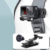 VKESEN Możliwość obracania o 360 stopni, uchwyt na klips do plecaka, kompatybilny z kamerami GoPro Hero 9, 8, 7…