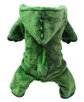 EOZY Ropa de Mascota Invierno Sudaderas Disfraz Cosplay Dinosaurio ...