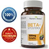 Mega Strength Beta Sitosterol Prostate Supplements – Advanced Prostate Support For Men - Supports Urinary Health & Bladder Function – Reduce Hair Loss & Boost Immunity - Increase Energy - 500 mg