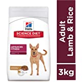 Hill's Science Diet Adult Advanced Fitness, Lamb Meal & Rice Recipe Dry Dog Food, 3 kg