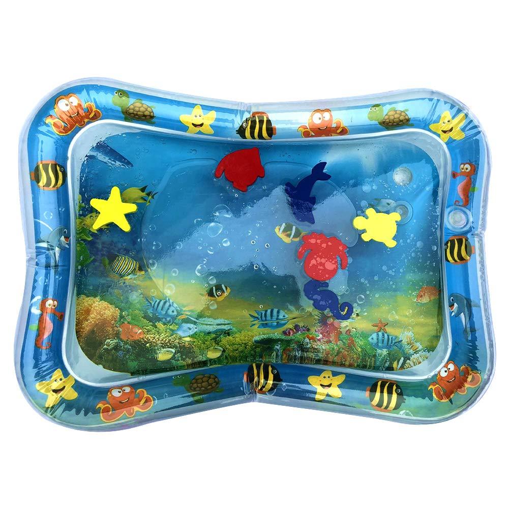 SH-Flying Coussin Gonflable gonflé pour bébé Coussin Gonflable Gonflable pour Eau Coussin pour Coussins d'eau Prostrate Pat Le Tapis de Jeu Amusant pour l'eau