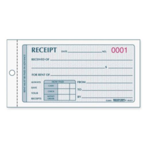 Receipt Book (Receipt Forms Free)