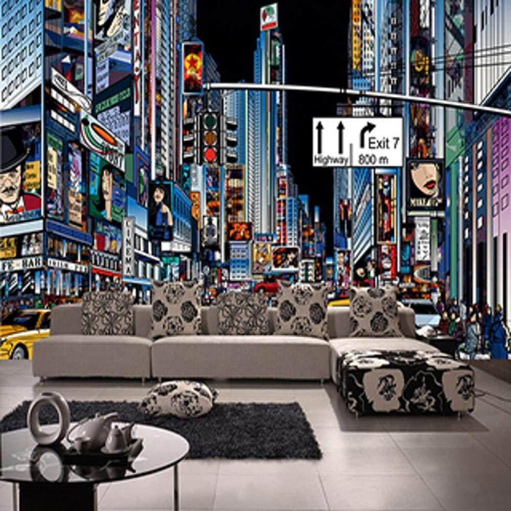 Amazon Com Wallpaper Mural 3d Mural New York Street Times Square