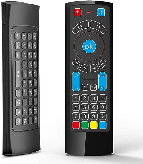 Mando a Distancia Bluetooth específicamente Compatible con Amazon Fire TV y Fire TV Stick- Control Remoto de Aire con Teclado/Mouse Remoto de Aire: Amazon.es: Electrónica