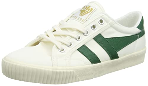 Gola Tennis Mark Cox Off White/Dk.Green, Zapatillas para Mujer: Amazon.es: Zapatos y complementos