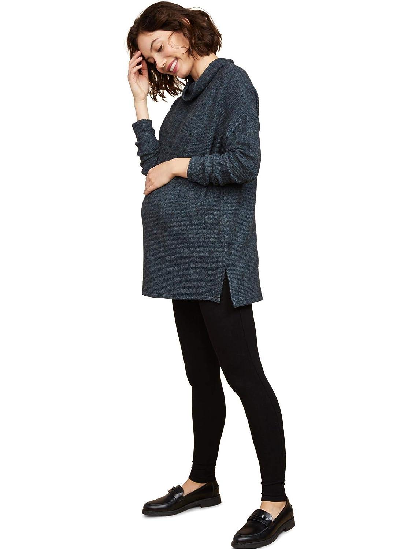 Motherhood Maternity Womens Full Length French Terry Secret Fit Belly Leggings