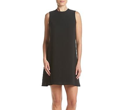 8cd646f2f0b DR2 by Daniel Rainn Pleated Back Shift Dress Black Small at Amazon ...
