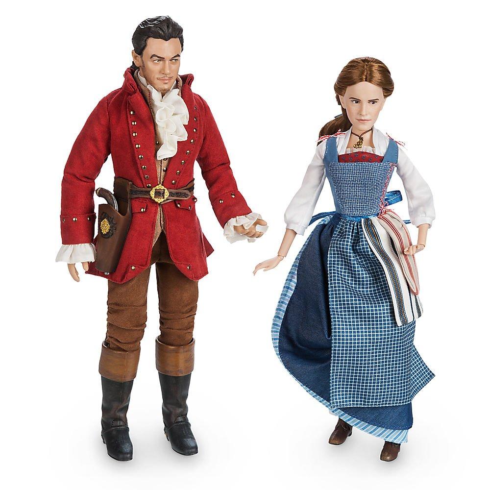 Amazoncom Disney Belle Gaston Film Collection Doll Set Beauty