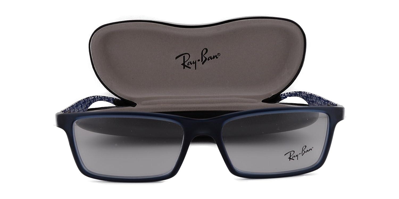 699429cfa0 Ray Ban RX8901 Eyeglasses 53-17-145 Demi Gloss Blue 5262 RX 8901   Amazon.co.uk  Clothing