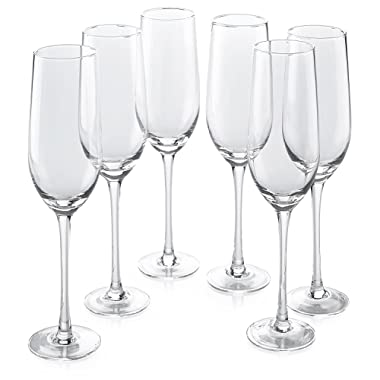 Classic Flute Champagne Glasses (18 Ounce)