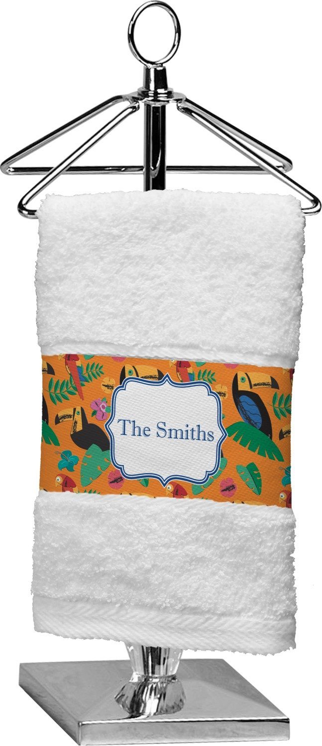 RNK Shops Toucans Finger Tip Towel (Personalized)