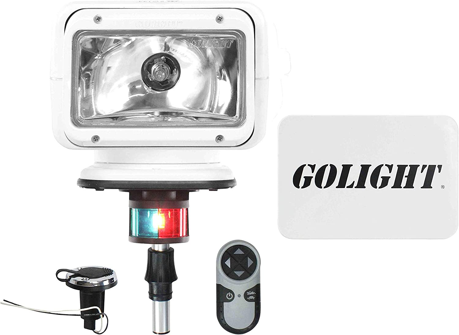 6 inch Driver side WITH install kit Larson Electronics 1015P9IQFKG 1990 International 7000 SERIES Post mount spotlight 100W Halogen -Chrome