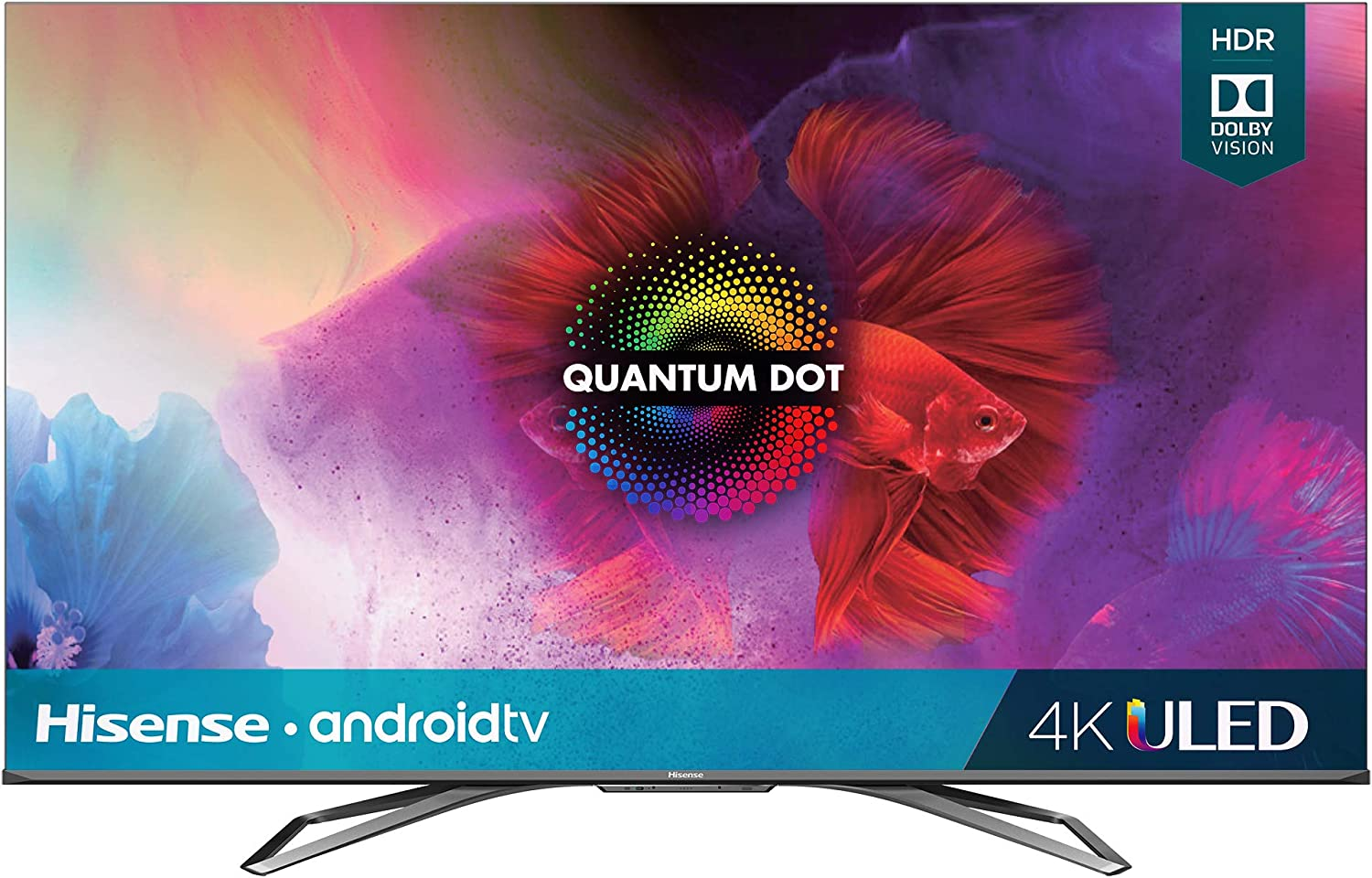 Hisense 55-Inch Class H9 Quantum Series Android 4K ULED Smart TV with Hand-Free Voice Control