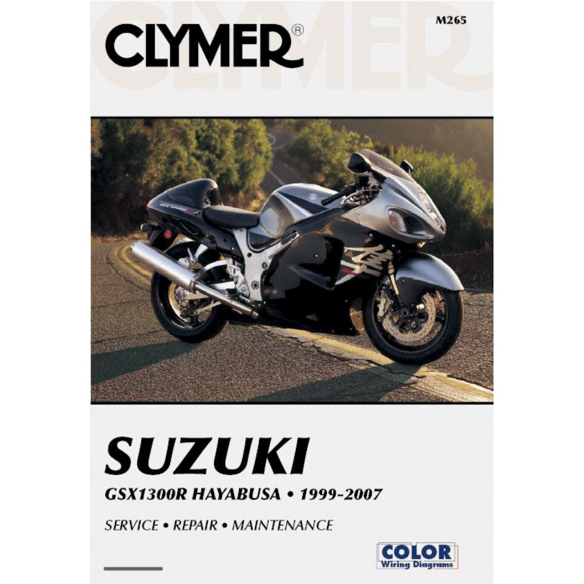 Clymer Suzuki Gsx1300r Hayabusa 1999 2007 Automotive Diagram On Wiring