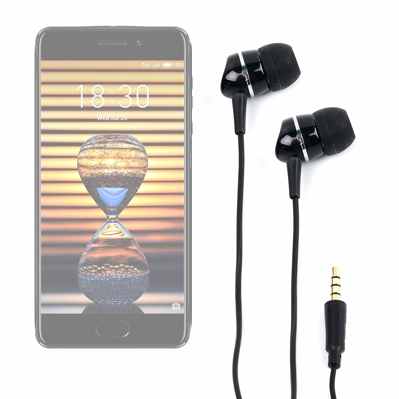 DURAGADGET Auriculares para Smartphone Meizu Pro 7 / Leagoo KIICAA ...