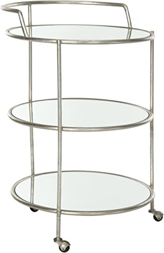 Safavieh Home Collection Dulcinea Silver Bar Cart