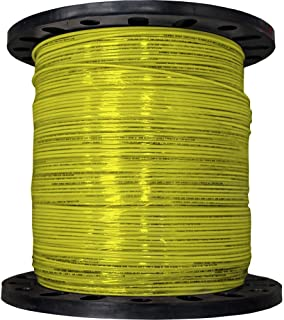 product image for CERRO 112-3607M 2500-Feet 12 Gauge Stranded THHN Yellow Wire