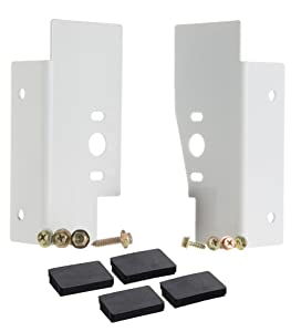 Laundry Stacking Kit for 27 Inch Front Load Washer and Dryer - GE/G.E. -Compatible - Compare to GEFLSTACK / WE25X10028 Laundry Bracket - By Impresa Products
