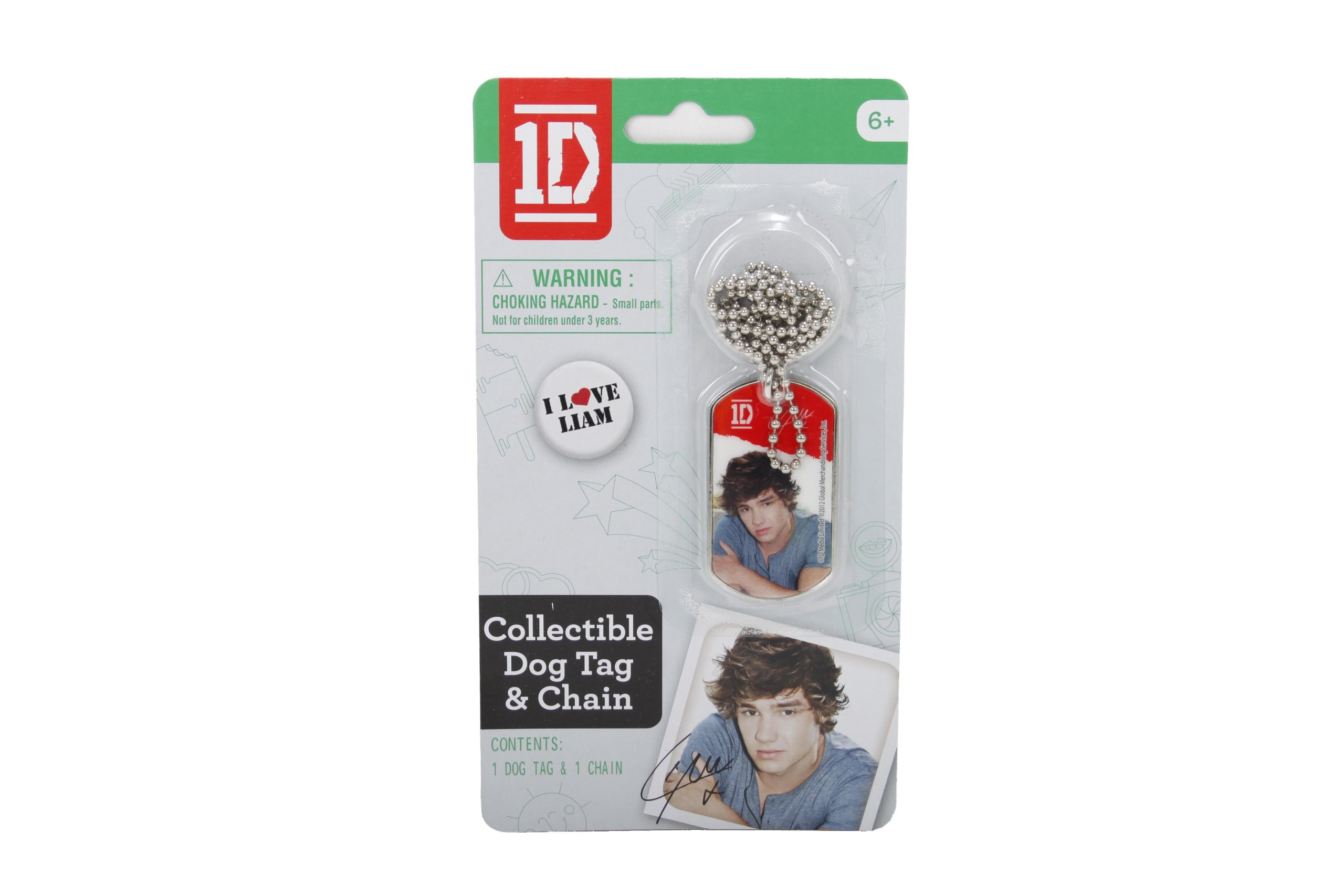 One Direction Dog Tags, Liam