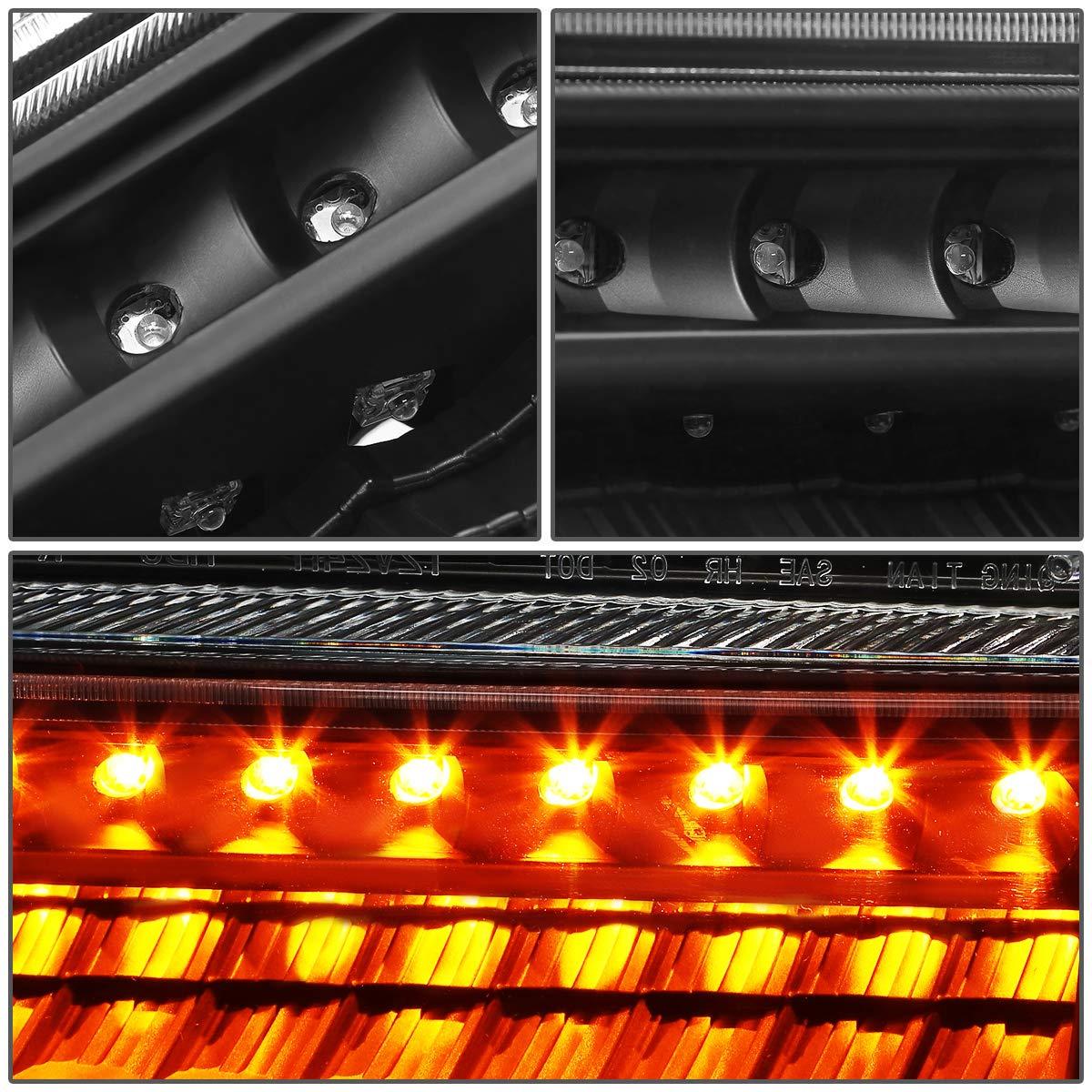 6000K Xenon HID//99-04 F250//00-04 F350//F450//F550 SMD Halo Projector Fog Lights
