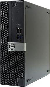 Dell Optiplex 5050 -SFF, Intel Core i7-7700 3.6GHz, 8GB RAM, 480GB Solid State Drive, Windows 10 Pro 64bit (RENEWED)