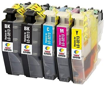 LC3213 TONER EXPERTE® 5 XL Cartuchos de Tinta compatibles con Brother DCP-J572DW DCP-J772DW DCP-J774DW MFC-J491DW MFC-J497DW MFC-J890DW MFC-J895DW | ...