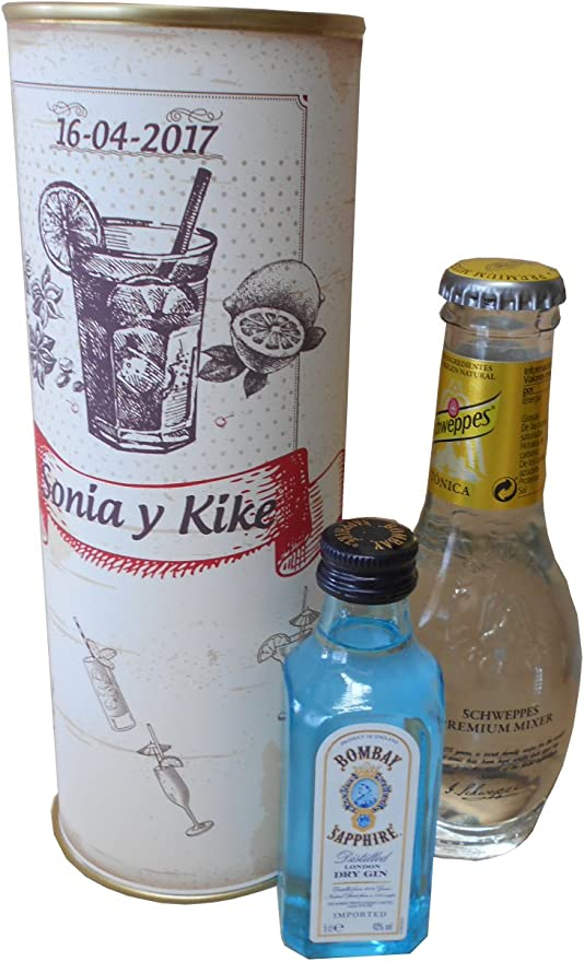 Pack Gin Tonic Schweppes Premium con Ginebra Bombay Sapphire en ...