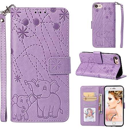 YKTO Vegan Leder Wallet Case iPhone 6, iPhone 6s 4.7