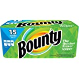 Bounty Select-a-Size Paper Towels, White, 12 Huge Rolls (2 Pack (15 Jumbo Rolls))