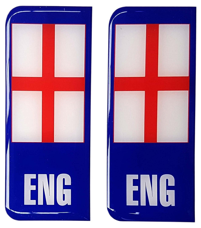 Autocollant plaque immatriculation Angleterre en Badge Anglais St George Drapeau Gel 3D Résine Dôme hot sale 2017