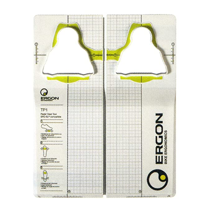 Ergon Cycling Shoes Adjuster TP1 Pedal Cleat Tool for Shimano SPD SL,  black, one size 48000001