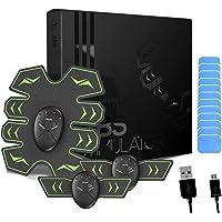 8 Pads Abs Stimulator Buikspiertrainer - USB oplaadbaar - EMS Sixpack trainer voor mannen & vrouwen om thuis buikspieren…