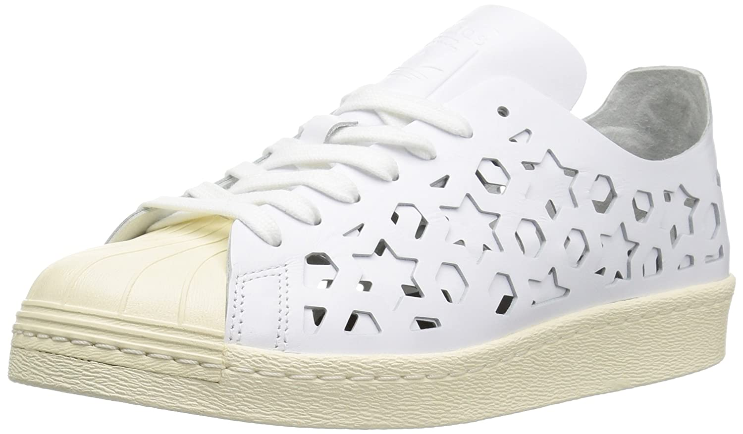adidas Originals Women's Superstar 80s Cut Out W B071WSTNK2 10 B(M) US|Ftwwht,ftwwht,cwhite