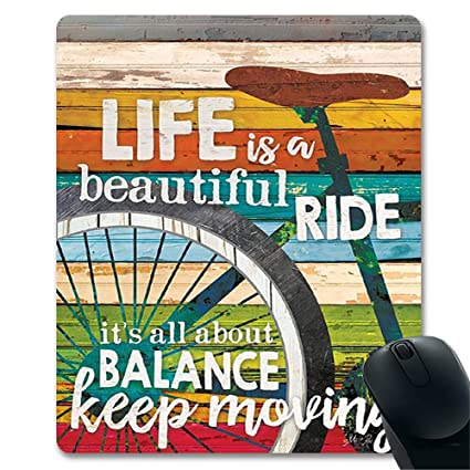 life is a beautiful ride chic bike country wall art famous