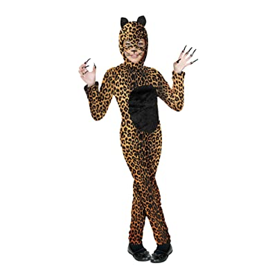 Kids Female Cheetah Cat Costume: Toys & Games