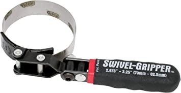 Large Swivel Gripper Filter Wrench Lisle 57040