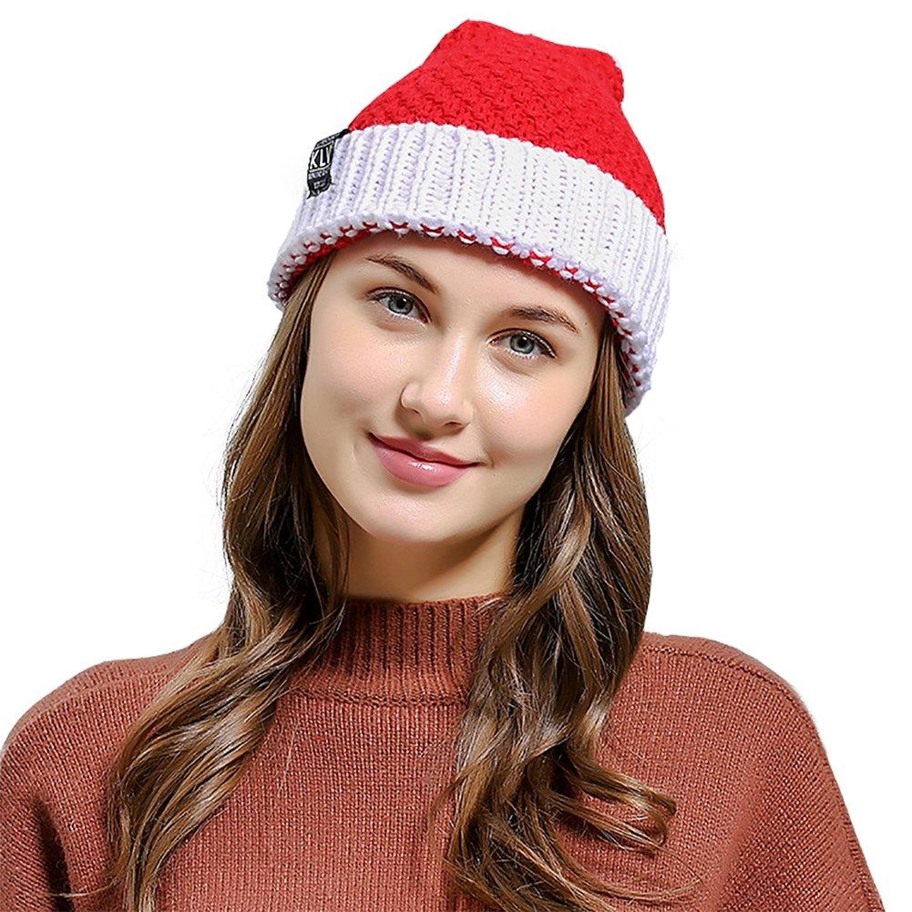 Shmily Girl Christmas Hat For Women & Kids (Women Red 2)