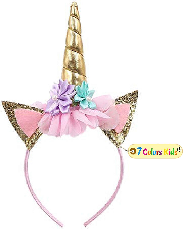 Magical Unicorns Horn Head Party Hair Headband Fancy Dress Cosplay Decorativ GA!