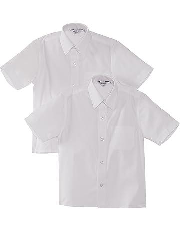 92d7d682a Trutex Limited Boy's Short Sleeve School Shirt-Pack ...