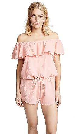 f3e106352376 Eberjey Women s Nomad Tula Romper at Amazon Women s Clothing store